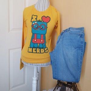 Soso happy long sleeves tshirt